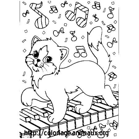 Chat et piano coloriage chat et piano sur coloriage - Coloriage piano ...